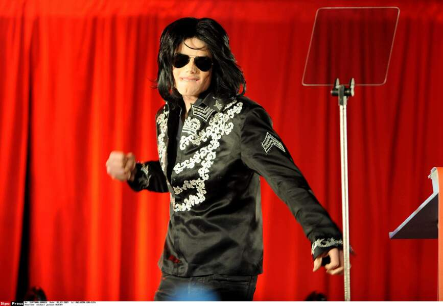 Michael peu avant sa mort, en 2009