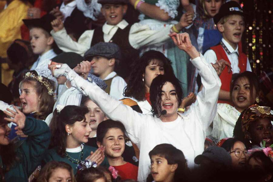 Michael au Superbowl de 1993