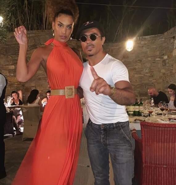 Jessica Aidi avec le célèbre Salt Bae