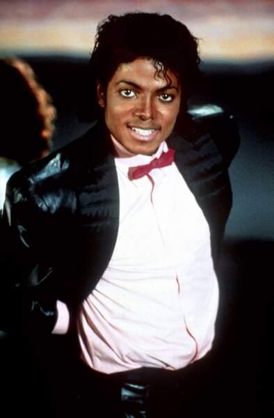 Michael et son nœud papillon en 1983