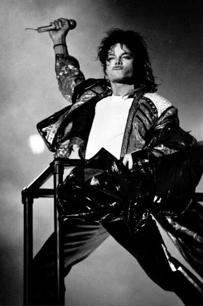 Michael en concert à Wembley en 1988