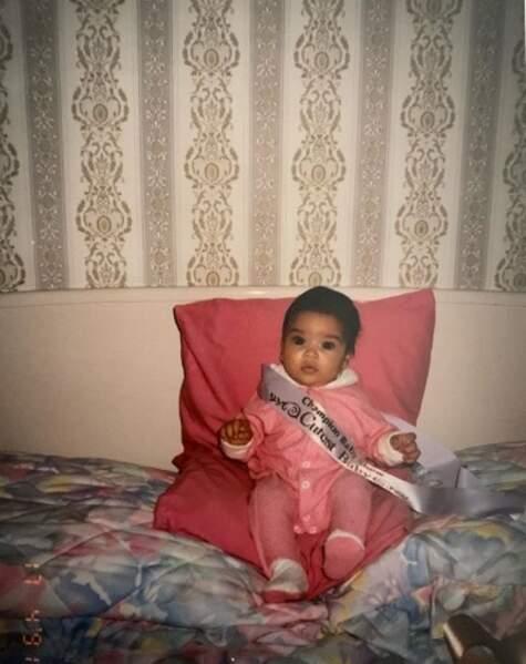Bébé, Shay Mitchell était déjà une reine de beauté.