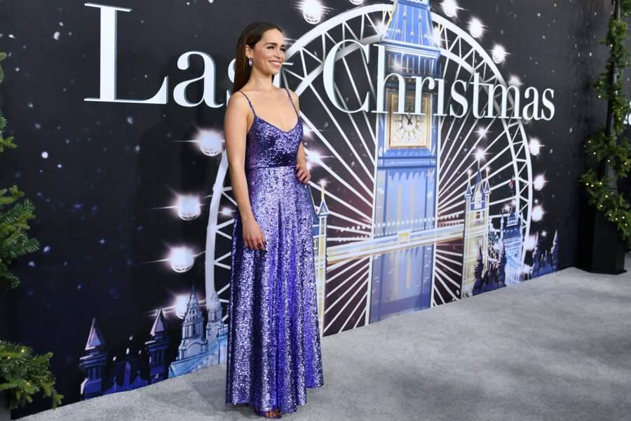 L' ex star de Game of thrones a mis sa plus belle robe pour cette avant-première