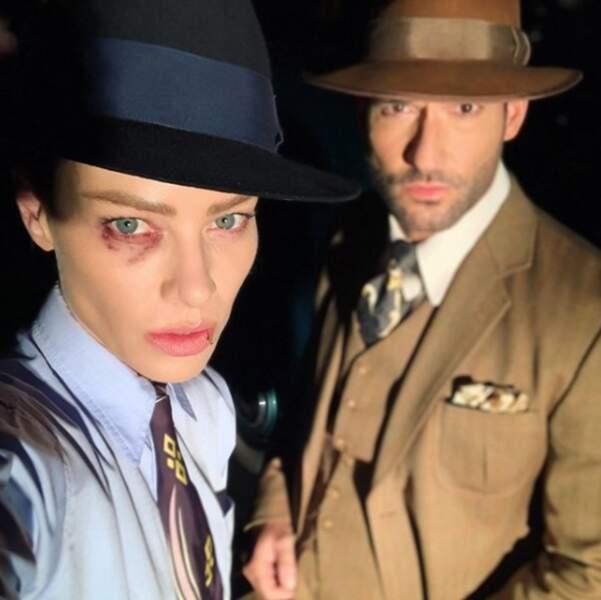 Les stars de Lucifer s'éclatent en mettant en boîte les derniers épisodes de la série pour Netflix