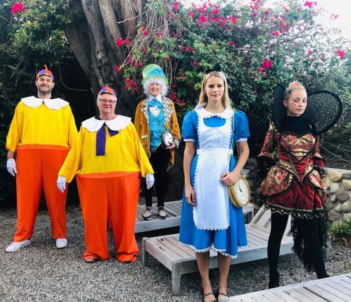 Le thème d'Alice au Pays des merveilles a inspiré Nicole Richie
