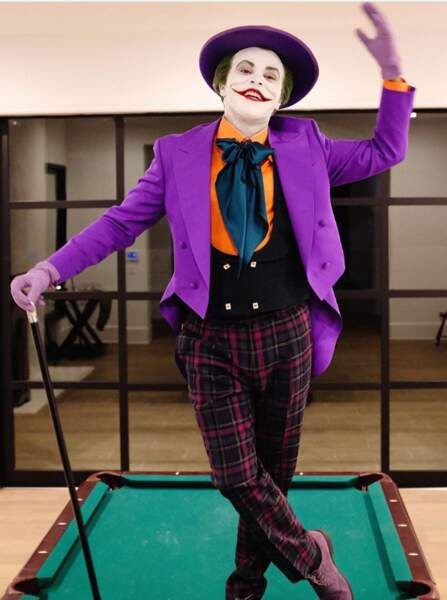 The Weeknd bluffant en Joker version Jack Nicholson !