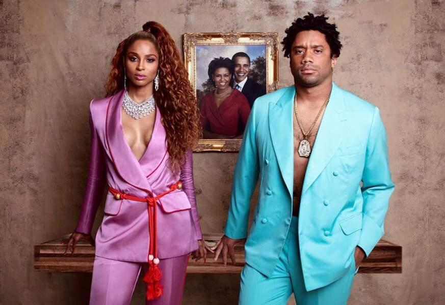 Ciara et Russell Wilson ont rendu hommage à Beyoncé et Jay-Z