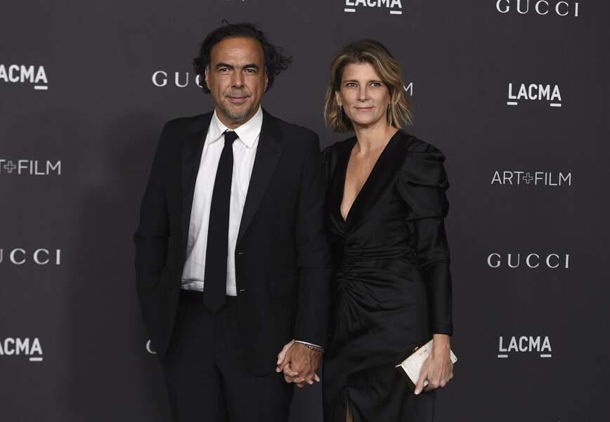 Le réalisateur Alejandro Gonzalez Inarritu et sa femme Maria Eladia Hagerman