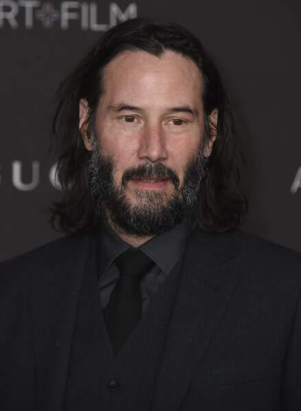 Keanu Reeves était présent au gala du LACMA vendredi soir