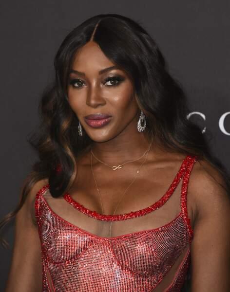 L'ancien top model Naomi Campbell