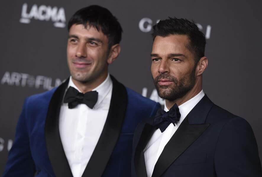Ricky Martin et son époux Jwan Yosef