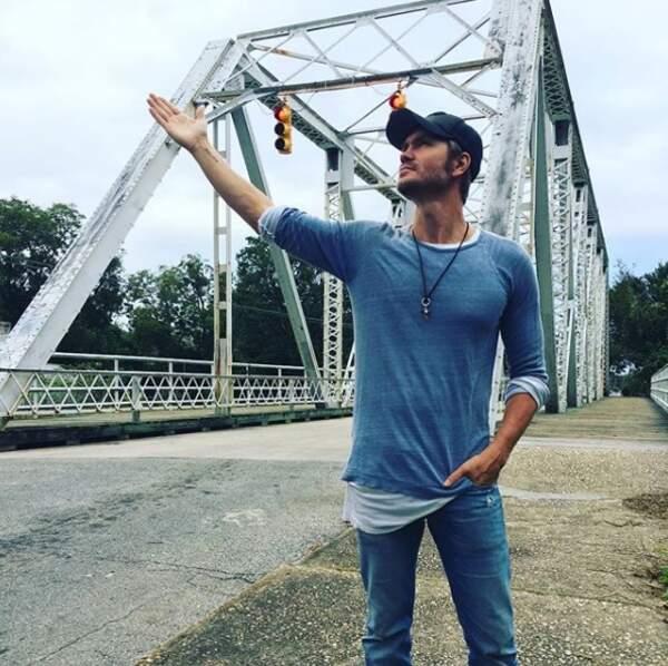 Chad Michael Murray se rend parfois à Wilmington, la ville où était tournée la série Les Frères Scott