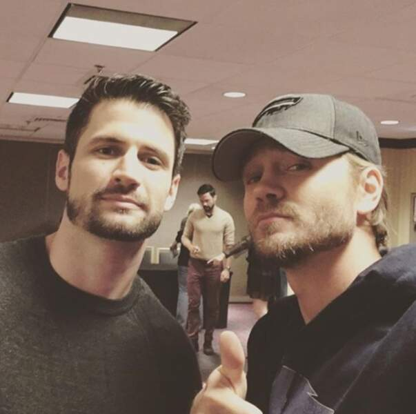 Ou encore James Lafferty qui incarnait Nathan, son frère à l'écran