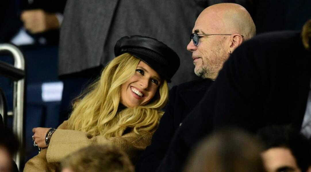 Pascal Obispo est venu avec sa femme, Julie