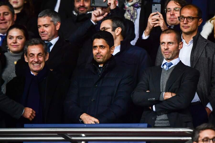 La Ligue des Champions attire de nombreuses personnalités...