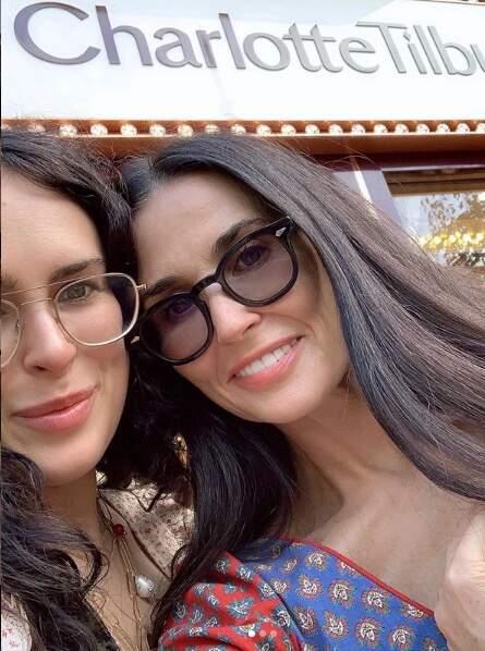 Rumer et Demi, mère et fille complices