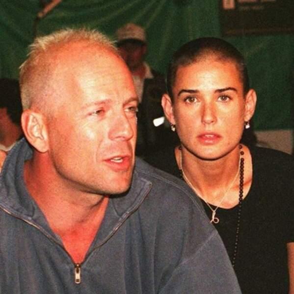 Et avec son ex Bruce Willis