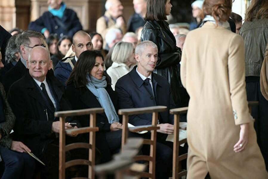 Anne Hidalgo, maire de Paris, était présente.