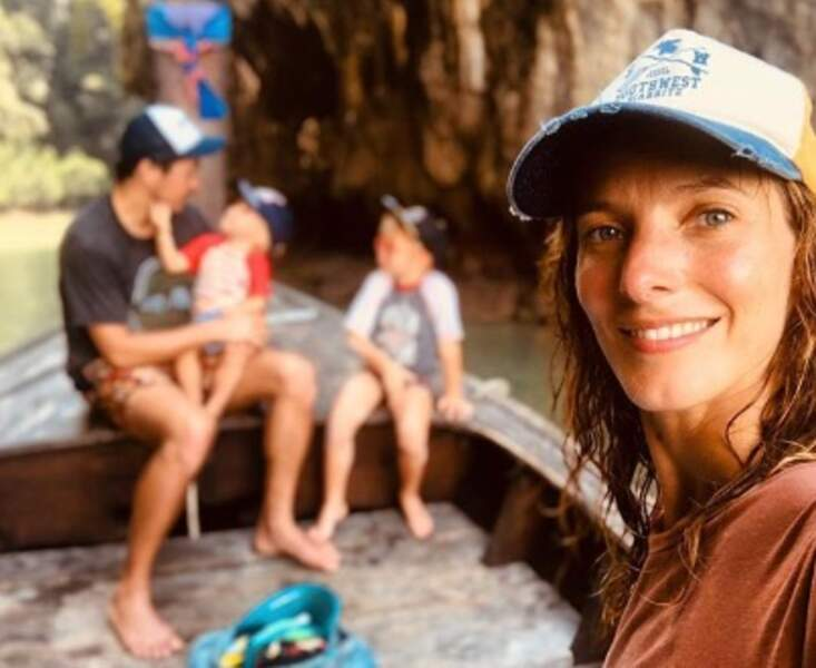 Elodie Varlet et sa tribu ont fait un tour en Thaïlande.