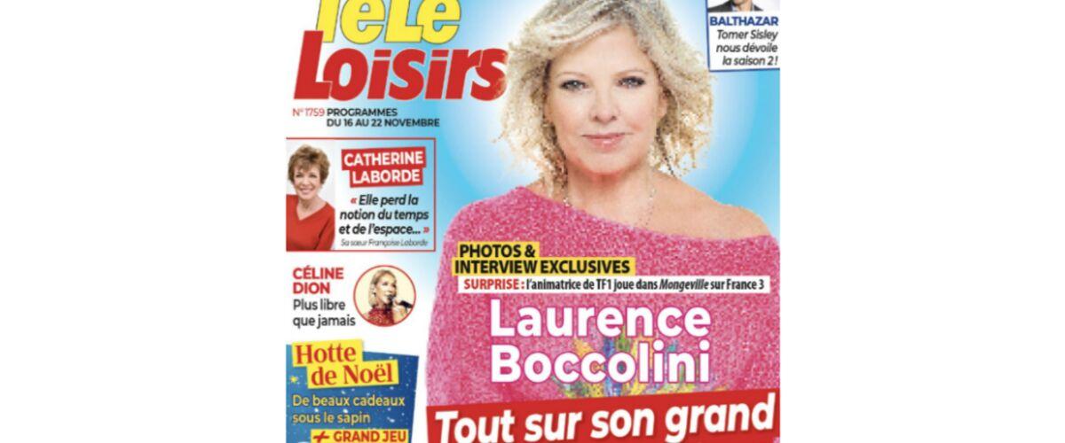 A la une de Télé-Loisirs : l'interview exclusive de Laurence Boccolini, bientôt de retour dans une fiction sur - Télé Loisirs.fr