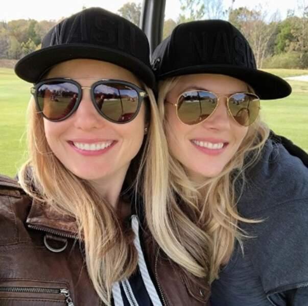 Katheryn Winnick a posé avec sa sœur Daria.