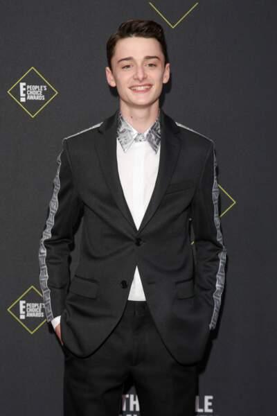 Noah Schnapp de la série Stranger Things au E! People's Choice Awards à Los Angeles le 10 novembre 2019