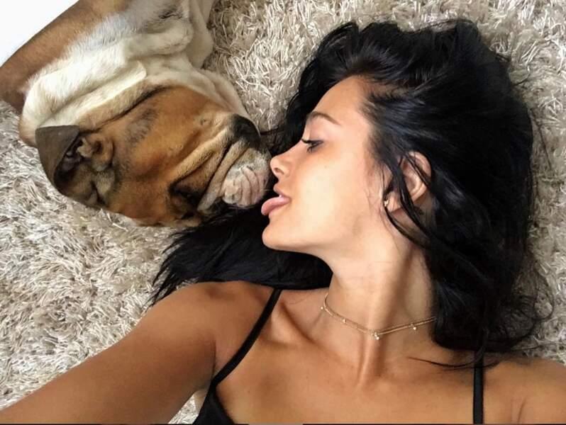 Oriana aime vraiment beaucoup les animaux