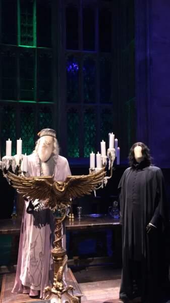 Albus Dumbledore et Severus Rogue veillent au grain