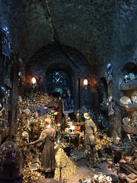La chambre forte de la famille Lestrange