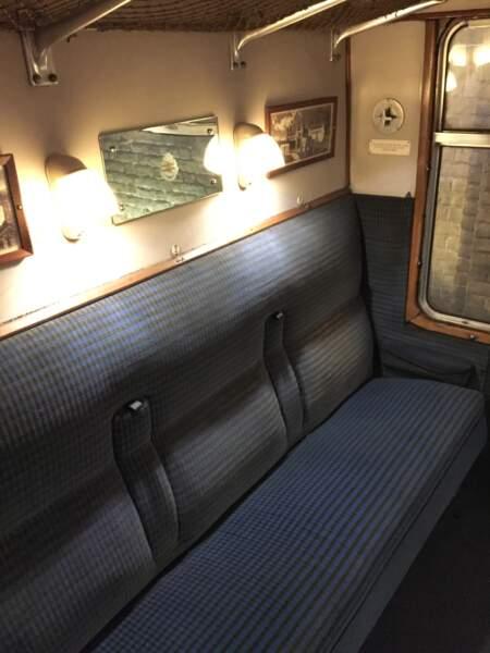 À bord du célèbre train