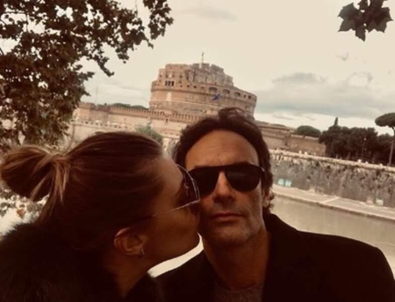 Anthony Delon et Sveva Alviti étaient à Rome.