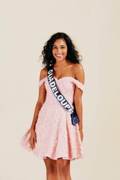Miss Guadeloupe : Clémence Botino
