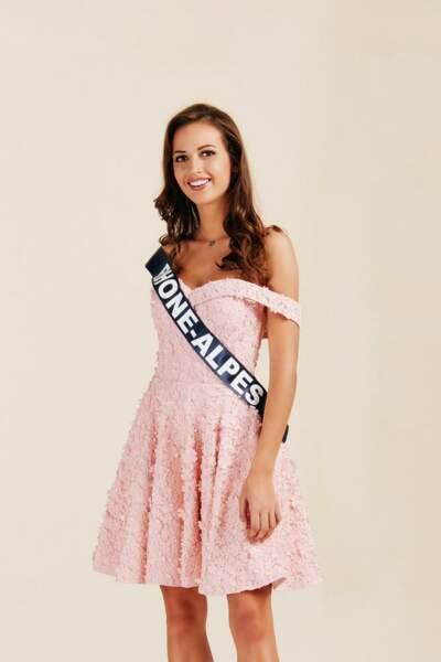 Miss Rhône Alpes : Chloé Prost