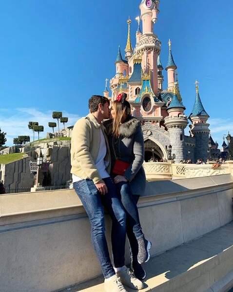 Le couple à Disneyland Paris
