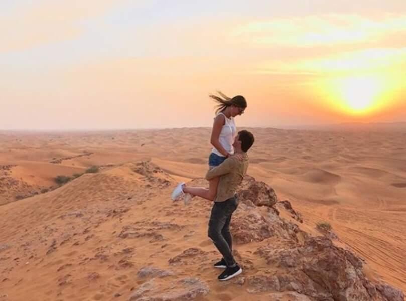 Et même... dans le désert !