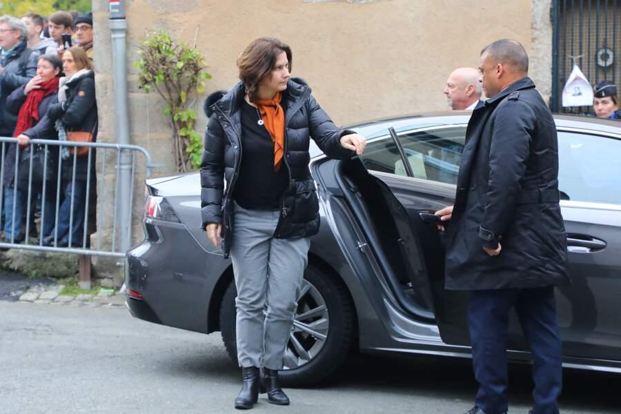 La Ministre des Sports Roxana Maracianeanu a fait le déplacement