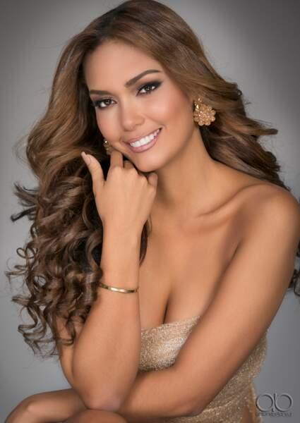 Miss Colombie : Sara Arteaga Franco