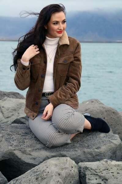 Miss Islande : Kolfinna Mist Austfjoro
