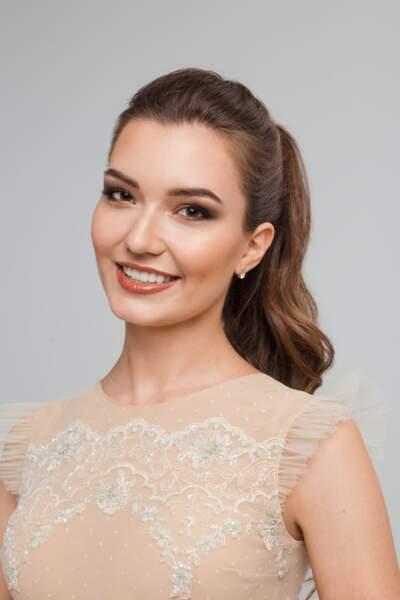 Miss Biélorussie : Anastasiya Laurynchuk