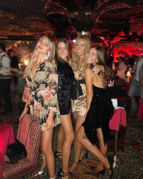 Matilde Mourinho passe aussi du temps avec ses amies