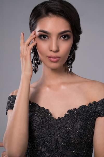 Miss Kazakhstan : Madina Batyk