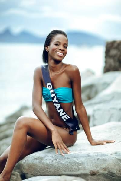 Miss Guyane : Dariana Abe