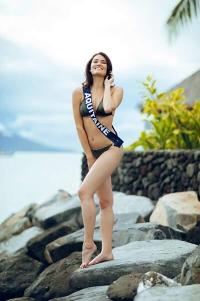 Miss Aquitaine : Justine Delmas