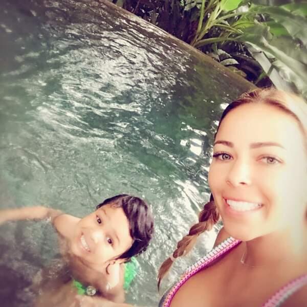 Andrea Salas aime passer du temps en famille