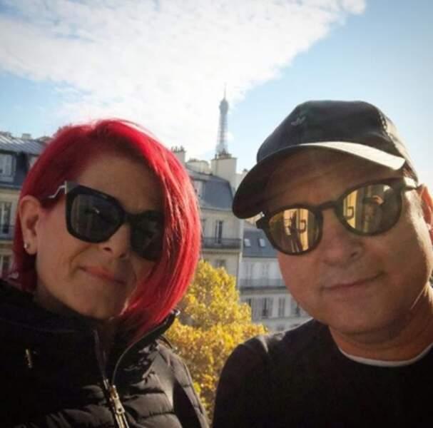 Beaucoup d'amour : Jean-Marc Généreux était avec son épouse France à Paris.