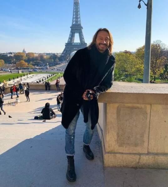 Et Bob Sinclar a fait du tourisme à Paris.