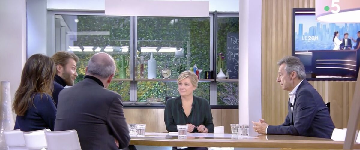 Moment de gêne dans C à vous : Anne-Elisabeth Lemoine absente du film de Michel Denisot... contrairement à d'a