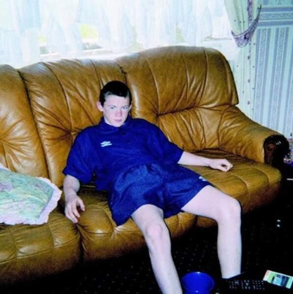 Vous le reconnaissez ? C'est la superstar Wayne Rooney.