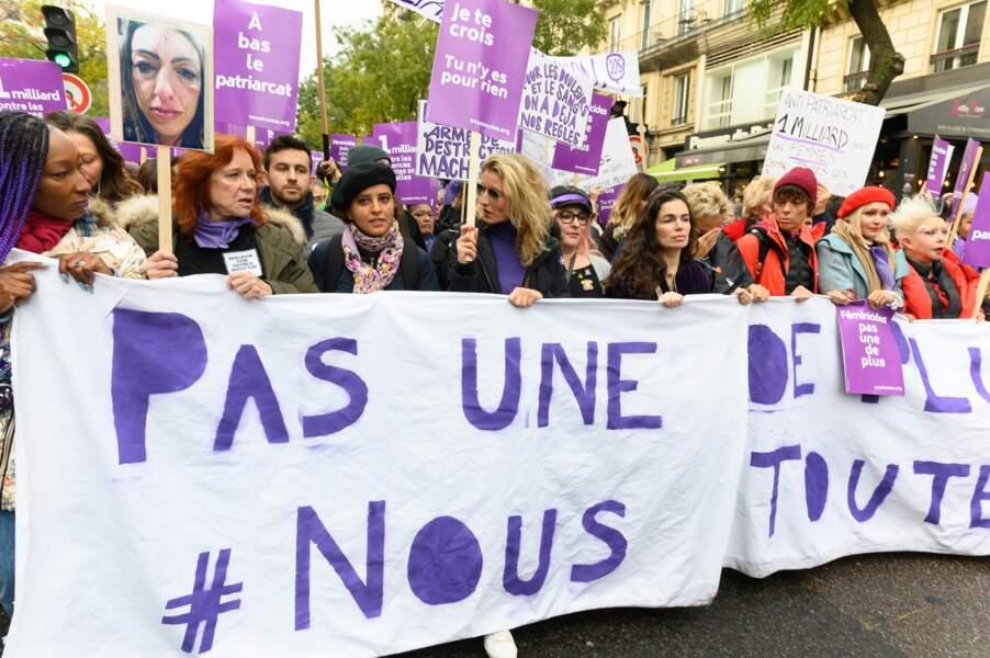 Nadège Beausson-Diagne, Eva Darlan, Najat Vallaud-Belkacem, Alexandra Lamy, Marilou Berry et les autres ont répondu à l'appel du collectif #Nous Toutes