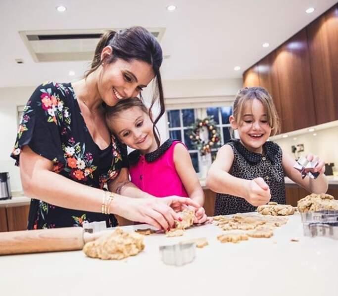 Et les activités en famille, comme la pâtisserie avec Anna-Rose et Giuliana